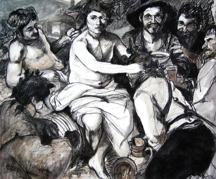 le triomphe de bacchus